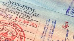 Thailand Re-entry Permit